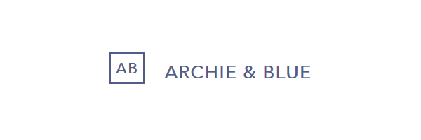 Archie and Blue Build and Design logo