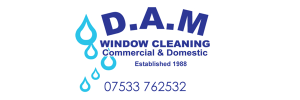 DAM Window Cleaning logo
