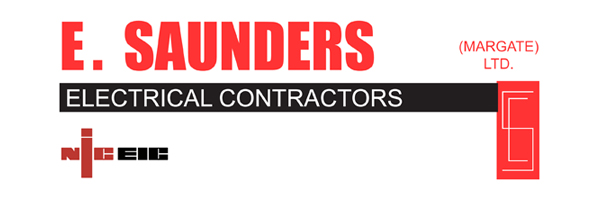 E.Saunders Electrical Contractors logo