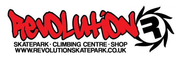 Revolution Skatepark, Climbing Centre and Skate and Surf Shop logo