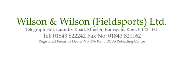 Wilson and Wilson Field Sports logo